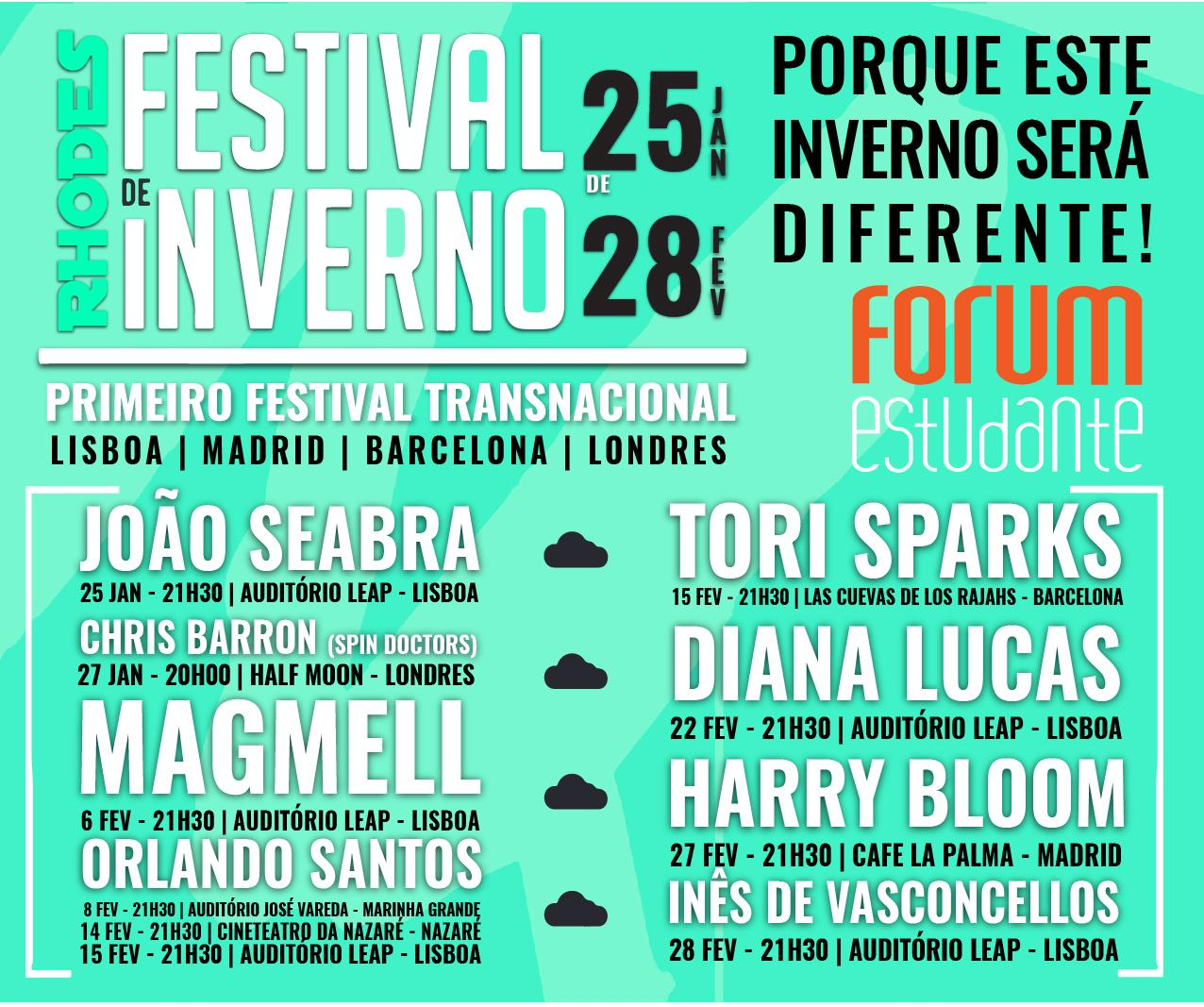 Rhodes Entertainment - Festival de Inverno